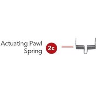 Rotary straight/convex - Actuating Pawl Spring