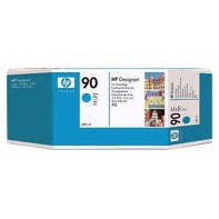 HP 90 - 400 ml Cyan Tintenpatrone