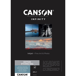 Canson Edition Etching Rag 310 g / m² - A4, 25 Blättern