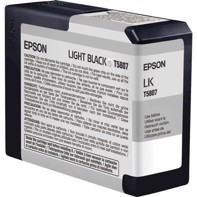 Epson Light Black 80 ml Tintenpatrone T5807 - Epson Pro 3800 und 3880