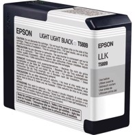 Epson Light Light Black 80 ml Tintenpatrone T5809 - Epson Pro 3800 und 3880