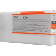 Epson Orange T653A - 200 ml Tintenpatrone für Epson Pro 4900
