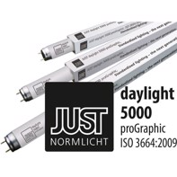 Just daylight 5000 proGraphic - 18 watt lysstofrør,  25 stk. pakke