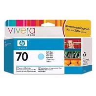 HP 70 - 130 ml Light Cyan Tintenpatrone