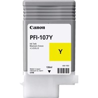 Canon Yellow PFI-107Y - 130 ml Tintenpatrone