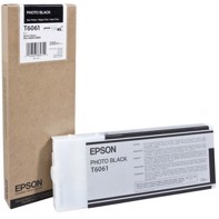 Epson Photo Black 220 ml Tintenpatrone T6061 - Epson Pro 4800 und 4880
