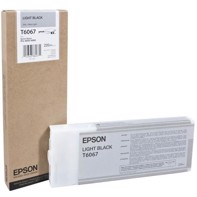 Epson Light Black 220 ml Tintenpatrone T6067 - Epson Pro 4800 und 4880